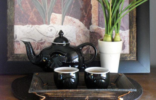 Moc herbacianych liści